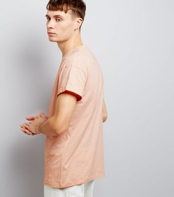 Pink Cotton Short Sleeve T-Shirt New Look