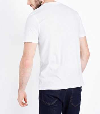 White Crew Neck T-Shirt New Look