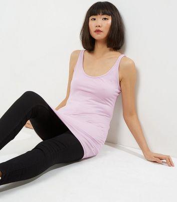 Pink Longline Vest New Look