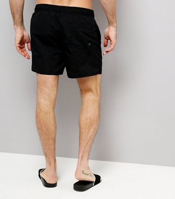 Black Swim Shorts New Look
