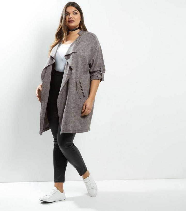2c5178447636e ... Curves Grey Cross Hatch Waterfall Duster Coat. ×. ×. ×. Shop the look
