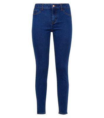 Blue Skinny Jenna Jeans New Look