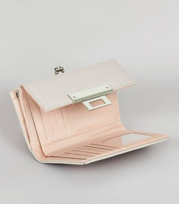 Pink Colour Block Purse New Look