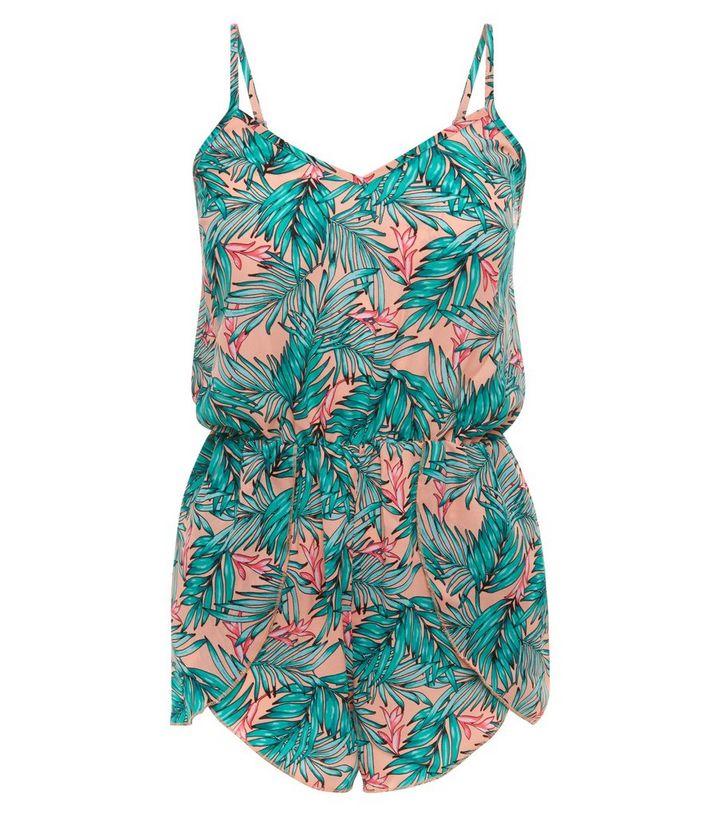 0b9da68b5e ... Palm Print Beach Playsuit. ×. ×. ×. Shop the look