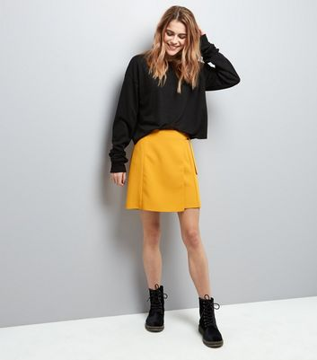 Black Extra Long Sleeve Sweater New Look