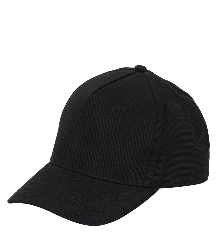 406091d6335 Black Cotton Snapback
