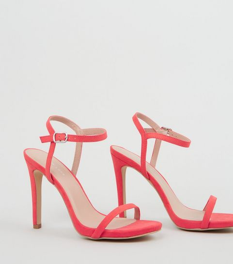 a2e71ab2534 Pink High Heel Shoes   Pastel & Shell Pink High Heels   New Look
