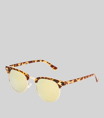 Brown Tortoiseshell Sunglasses New Look