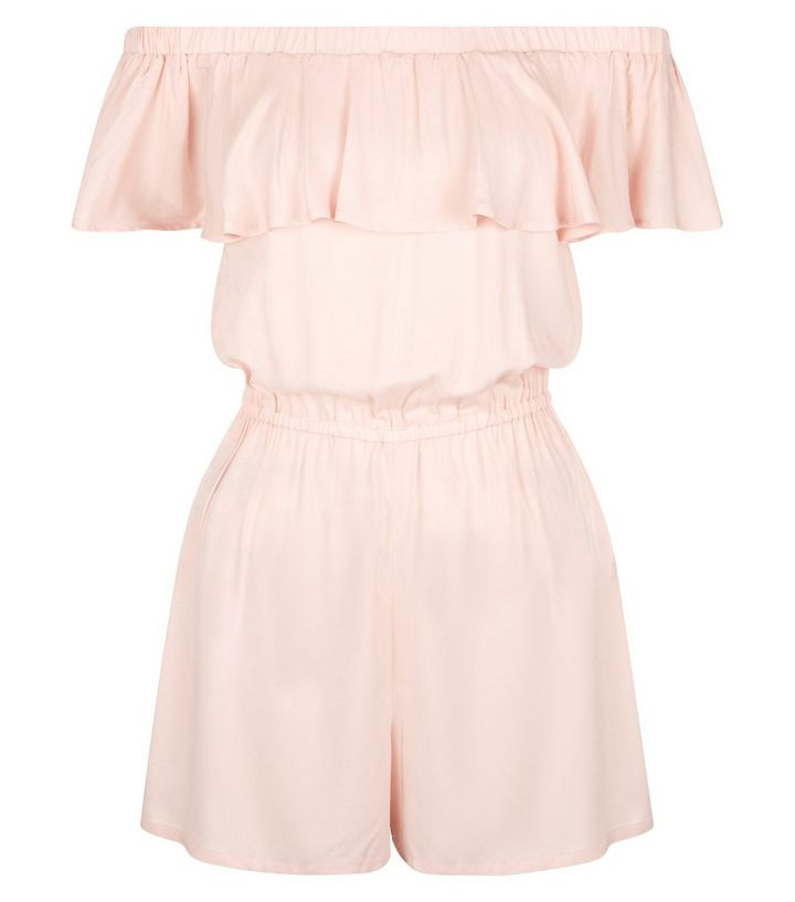 2fb551537e ... Girls Playsuits   Jumpsuits · Teens Pink Frill Trim Bardot Playsuit. ×.  ×. ×. Shop the look