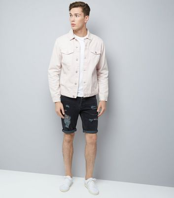 Off White Denim Jacket New Look