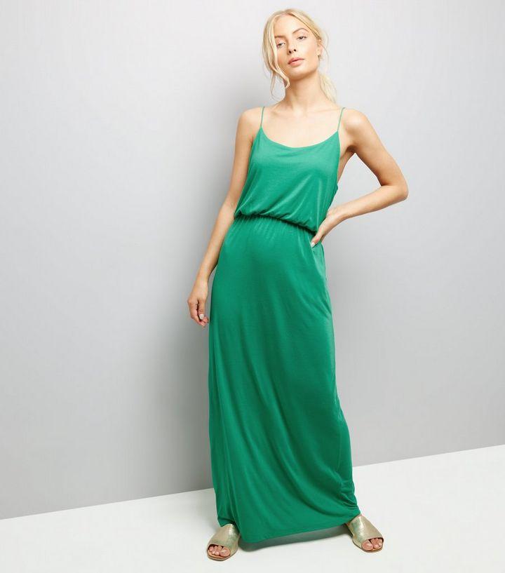 4eadb995345 JDY Mint Green Strappy Maxi Dress