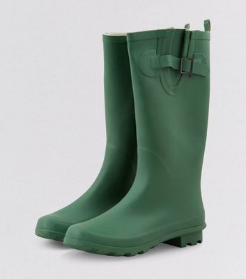 Green Welly Boots | New Look