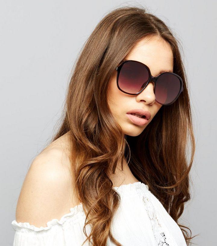 672a49764fc Black Oversized Sunglasses