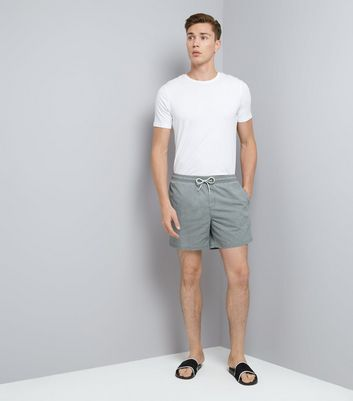 Grey Swim Shorts New Look