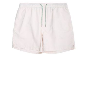 Pink Swim Shorts New Look