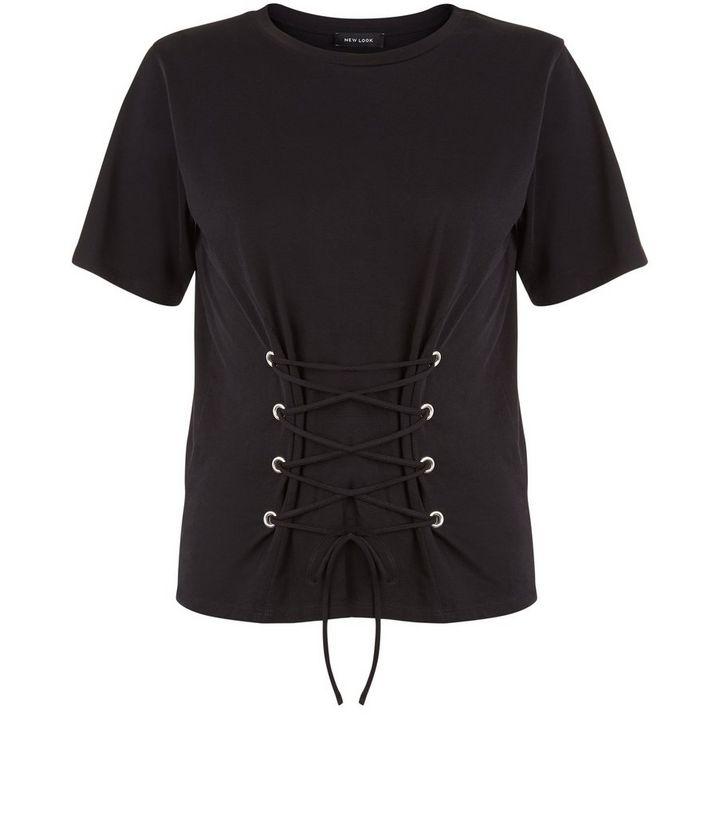 2a2c9186291d ... Black Lace Up Corset T-Shirt. ×. ×. ×. Shop the look