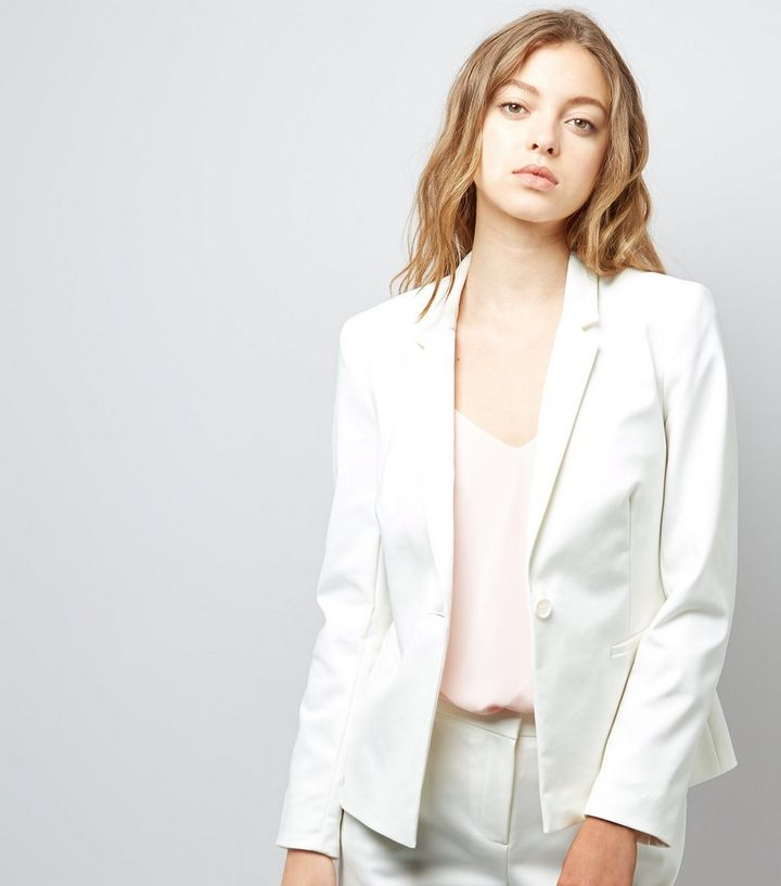 1ae97abf9d6 White Premium Suit Jacket