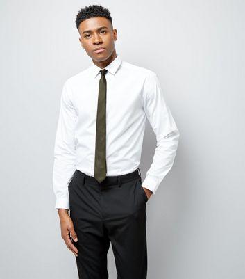 Khaki Tie New Look