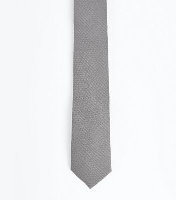 Silver Tie New Look