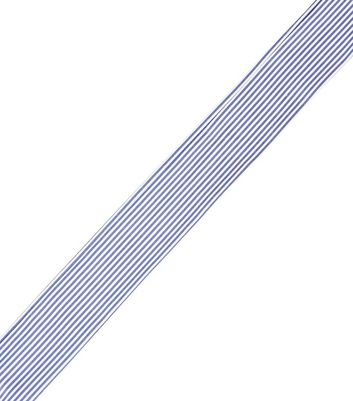 Blue Striped Necktie New Look