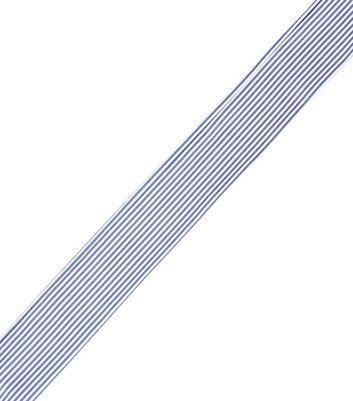 Blue Striped Necktie New Look