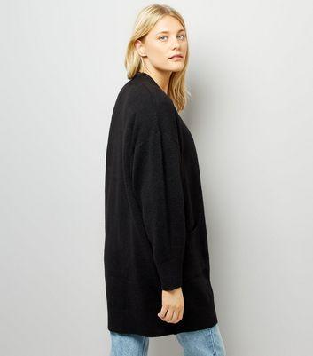 black-batwing-sleeve-oversized-cardigan