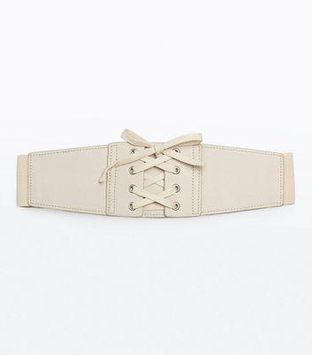 Nude Corset Waist Belt New Look