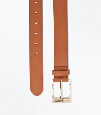 Tan Jeans Belt New Look