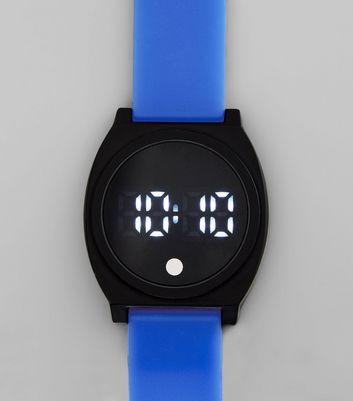 blue-digital-watch