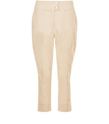 Pink Cropped Trousers New Look