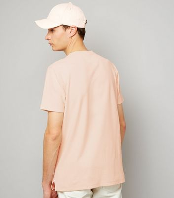 Pink Zip Detail T-Shirt New Look