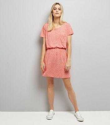 JDY Mid Pink Elasticated Waist Dress New Look
