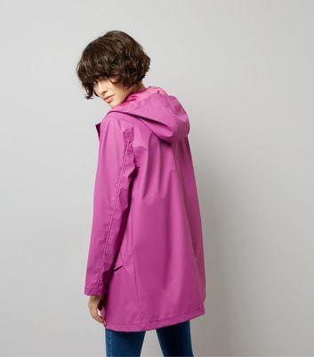 Purple Matte Anorak New Look