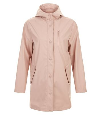 Pink Matte Anorak New Look