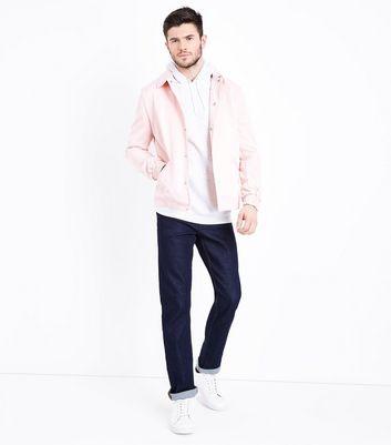 Pink Coach Jacket New Look