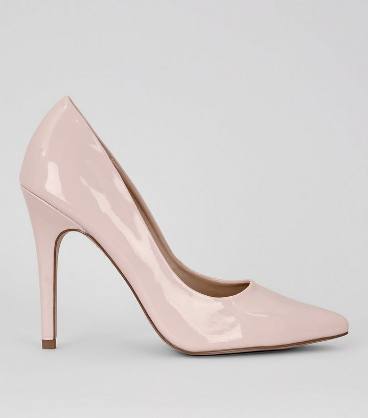 40b7ee19a02 Pink Patent Pointed Court Shoe Add to Saved Items Remove from Saved Items