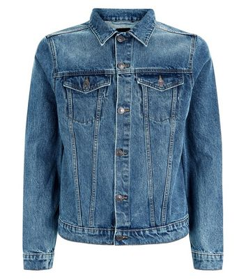 Blue Denim Jacket New Look
