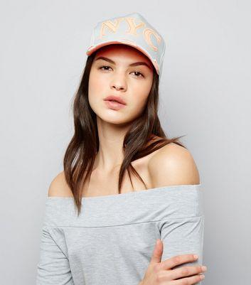 Grey NYC Felt Cap New Look