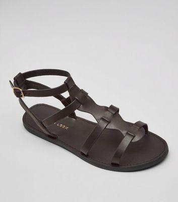 Black Gladiator Sandals | New Look