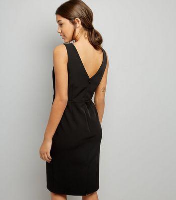 Black Pencil Dress New Look