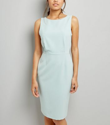 Mint Green Pencil Dress New Look