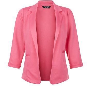 Teens Pink Blazer New Look