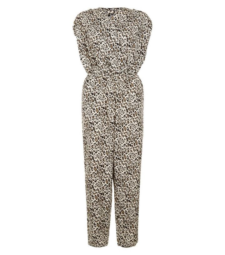 250e12242131 ... Mela Brown Leopard Print Jumpsuit. ×. ×. ×. Shop the look