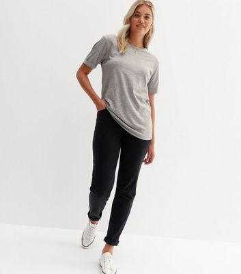 Tall Grey Oversized T-Shirt New Look