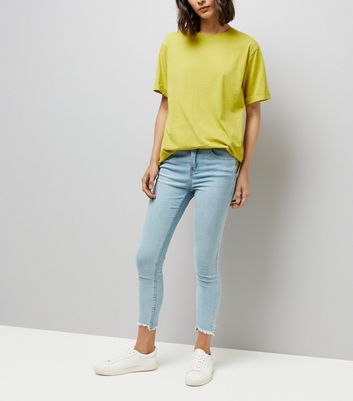Tall Yellow Oversized T-Shirt New Look