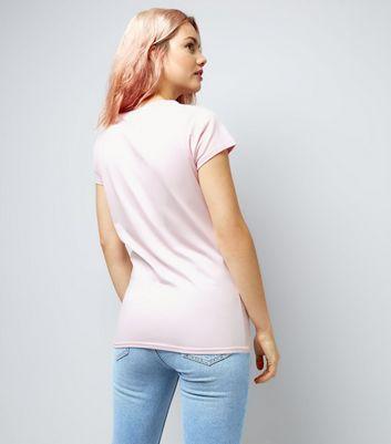 Lilac Slogan Print T-Shirt New Look