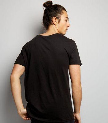 Black Def Leppard Print Short Sleeve T-Shirt New Look