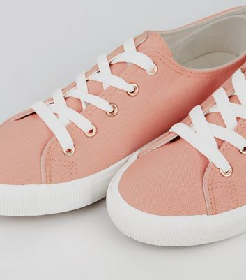 pink-canvas-lace-up-trainers