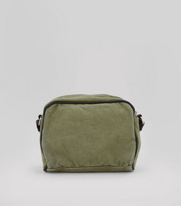 Khaki Cross Body Bag New Look