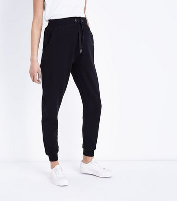 Maternity Black Slim Leg Joggers New Look